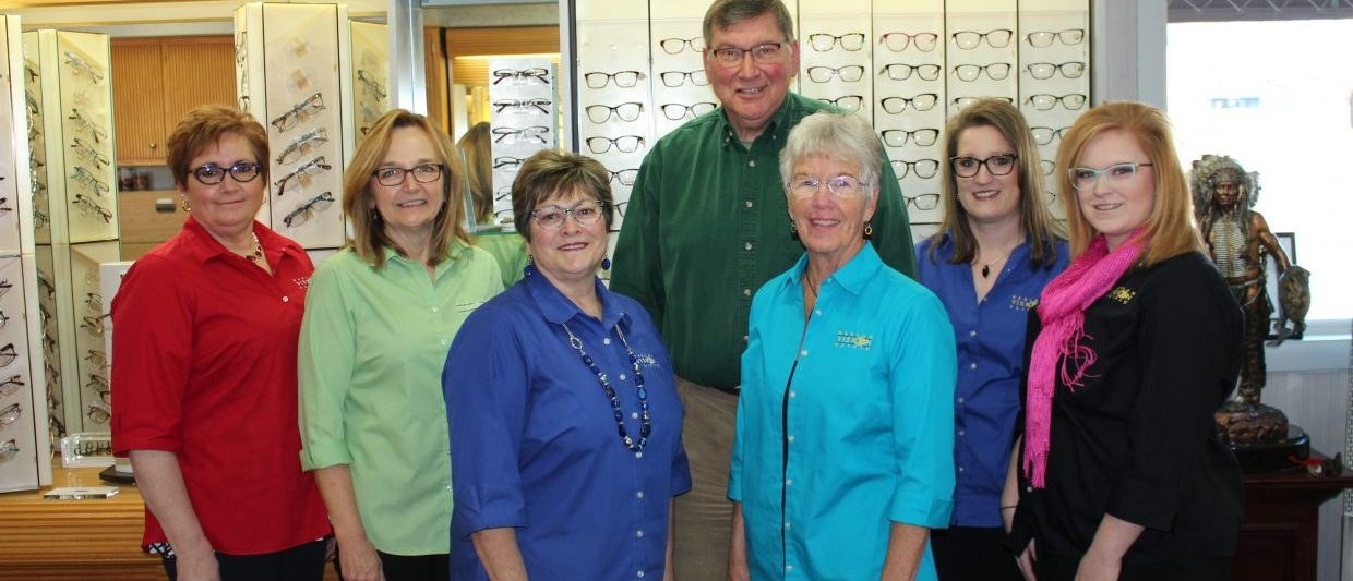 Staff photo at Harlan Vision Clinic